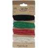 Hemp 100% Natural 1mm 20lb 4X29.9ft Primary Colours